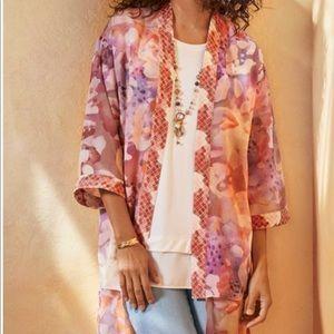 SOFT SURROUNDINGS - Cool Cat Kimono